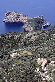 The curious pierced headland of Na Foradada, once a property of the Archduke Lluis Salvador.