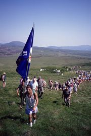 Castlebar's International Four Days Walks introduce the world to the West of Ireland.
